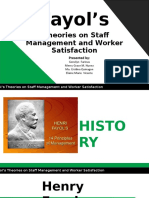 Henri Fayol Theory of Management