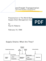 bulk transport and scm