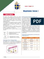 FISICA 2DO SECUNDARIA -  01