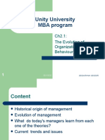 ch1.2  the evolution of management theory.ppt