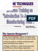 22249473 Training of Japanese Manufacturing Tools
