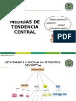 3. ESTADIGRAFOS DE POSICION. media, moda y mediana