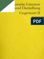 Deutsche Literatur. Ein Abriß in Text Und Darstellung. Bd. 17) Gerhard R. Kaiser (Hrsg.) - Gegenwart II - Philipp Reclam Jun. (2000)