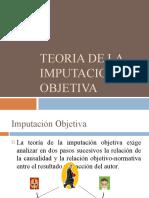 Teoria de La Imputacion Objetiva
