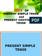 TENSES OF VERB