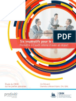 Six Audit Committee Imperatives French