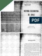 """Chile, """"Historia Eclesiastica de Chile"""""""