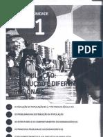 GEOGRAFIA-MOD 1-UN 1-A POPULAÇÃO EVOLUCAO E DIFERENÇAS REGIONAIS