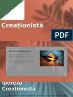 teoria creationista. Ursu Dumitrita