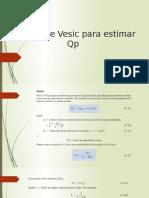 Método de Vesic, Coley y Castello Para Estimar Qp