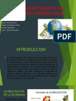 COMPROTAMIENTO DEL MERCADO INTERNACIONAL
