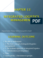 13.0 CHAPTER_13_INTEGRATED LOGISTICS MANAGEMENT