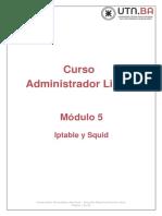 Modulo 5 - Iptables y Squid