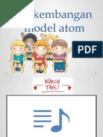 Model Atom Bohr & Mekanika Gelombang