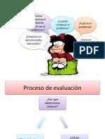 Consideraciones sobre la evaluación del TEL 2015