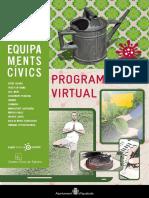 Programa d'activitats dels centres cívics d'Igualada