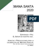 Año 2020 Homilías y predicaciones, Semana Santa..docx