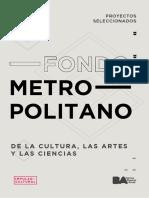 GCBA Fomento Metropolitano de la Cultura las Artes y las Ciencias -Seleccionados_2019_19-mar