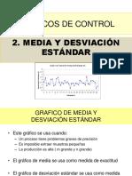 Gráfico de Control Media y DS