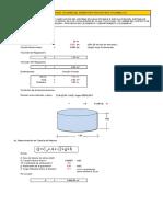 Comprobación de volumen del reservorio proyectado 8m3