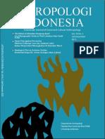 ANTROPOLOGI INDONESIA - FISIP UI