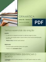 GRAMÁTICA - Aula 02.pdf