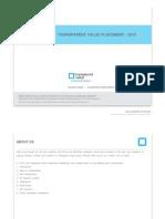 Transparent Value Presentation