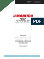 MANITOU BF BP 10249 44158 ANCENIS CEDEX - FRANCE TEL_ + 33 (0)2 40 09 10 11