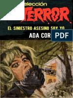El siniestro asesino soy yo - Coretti, Ada
