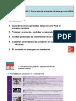 PROTOCOLOS DE ACTUACION DE EMERGENICAS-PAS