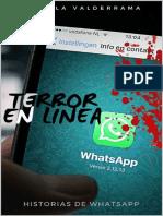 Terror en linea-Marcela valderrama