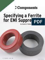 Soft Ferrite Mat Selection