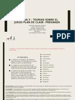 SECCION 3- PLAN DE CLASE -PREDANZA