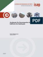 DESEMPENHO ACÚSTICOS DE EDFÍCIOS DE HABITAÇÃO