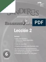Cuadernillo Senderos 6 U1 leccion2