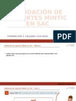 Validacion de documentos Mintic en SAC