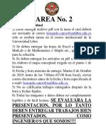 TAREA No 2 - Dinamica - 2019- 2 - Unilibre
