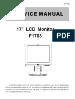 Monitor Hp f1703