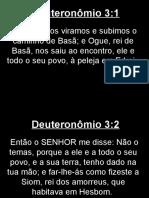 Deuteronômio - 003.ppt