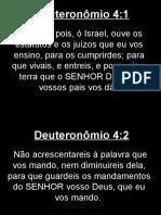 Deuteronômio - 004.ppt