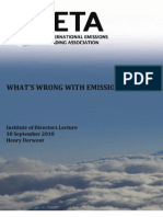 What's Wrong With Emissions Trading