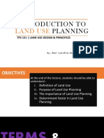 WEEK 1_INTRO TO LAND USE PLANNING