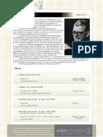 Catalogo de obras Shostakovich