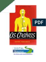 Os Chakras - Os Centros Magnéticos Vitais do Ser Humano.pdf