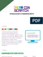 12. Crear con Scratch - Matemáticas