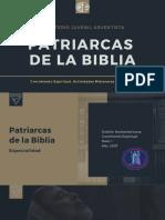 Especialidad Patriarcas de La Biblia