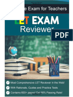 Free LET Review 2020 Licensure Examination for Teachers LET Exam Reviewer Pdfbooksforum.com