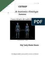 Apostila Anatomia e Fisiologia Humana - Curso de Radiologia