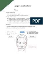 Masaje para parálisis facial