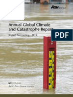 AON Annual Global Catastrophe Report_2010